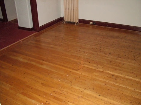 Lombardi's Repairs Hardwood Floors